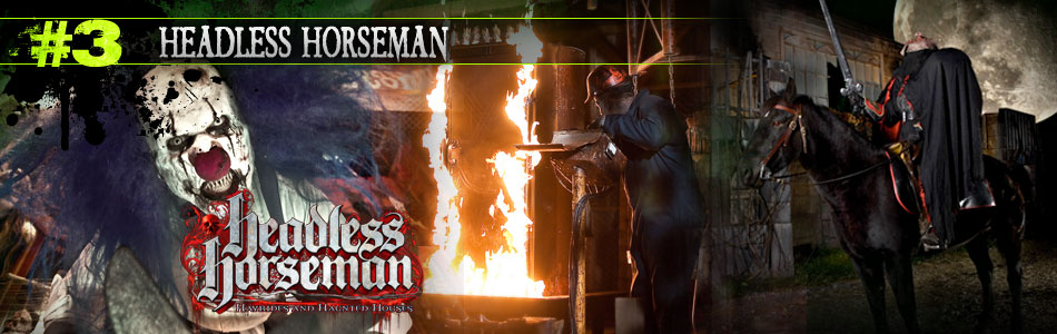 Headless Horseman Hayrides and Haunted Houses
