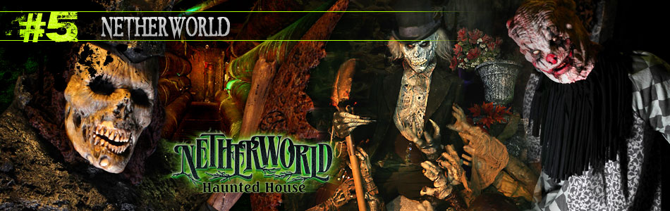 Netherworld Haunted House in Atlanta, GA