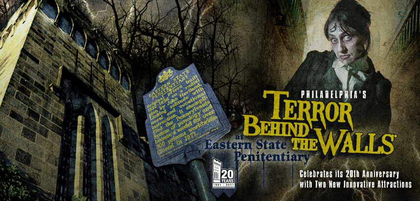 Terror Behind The Walls at Eastern State Penitentiary Haunted House