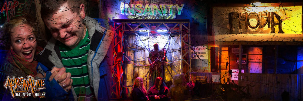 ADRENALINE HAUNTED HOUSE