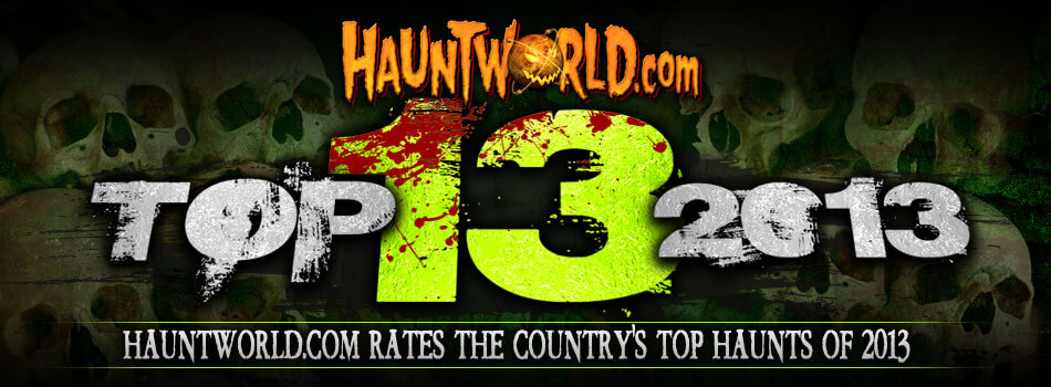 Top 13 haunted house