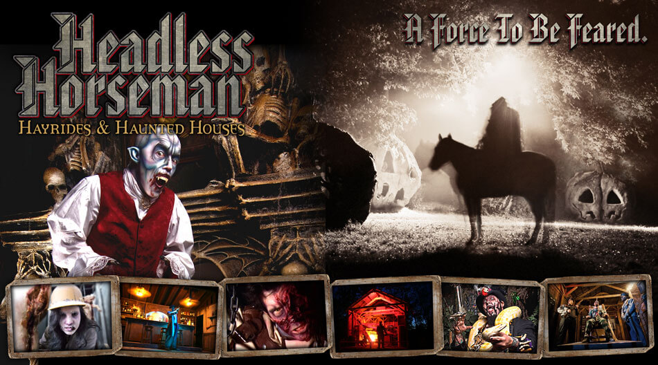Headless Horseman Hayrides & Haunted Houses