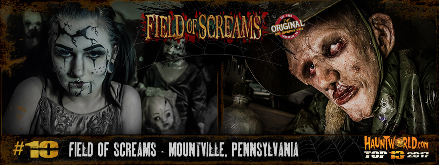 Field of Screams - Mountville, Pennsylvania