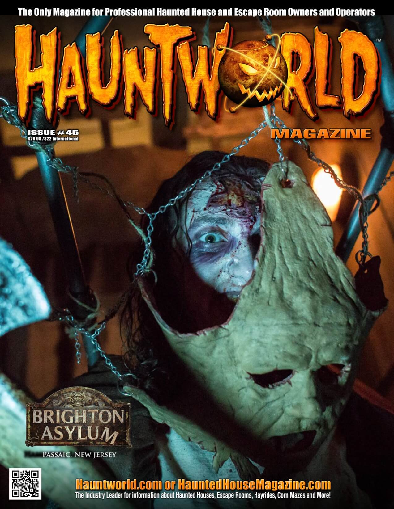hauntworld magazine the industires leader for information will provide the answers get your subscription now at wwwhauntedhousemagazinecom - Houses Magazine Subscription