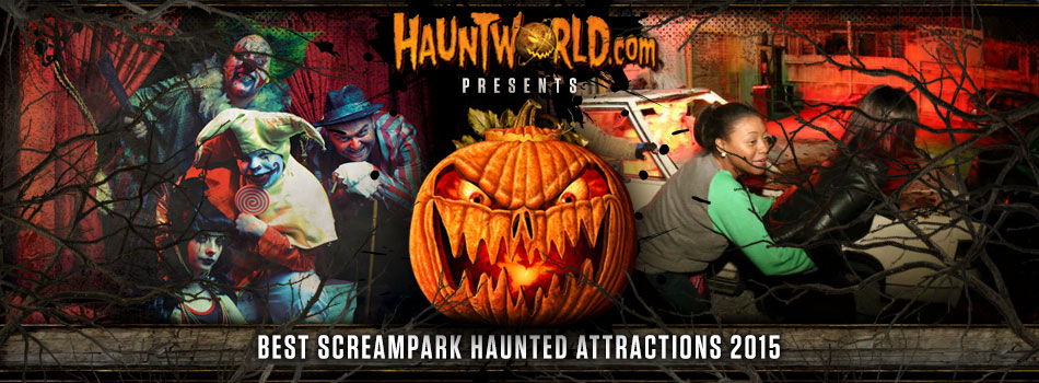 Screampark haunted attractions