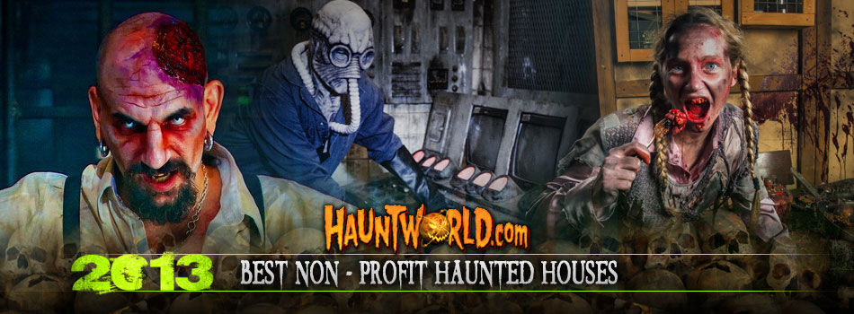 Best Non-Profit Haunted Houses
