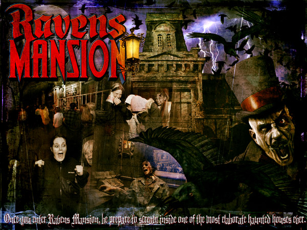 haunted attractions and Halloween attractions
