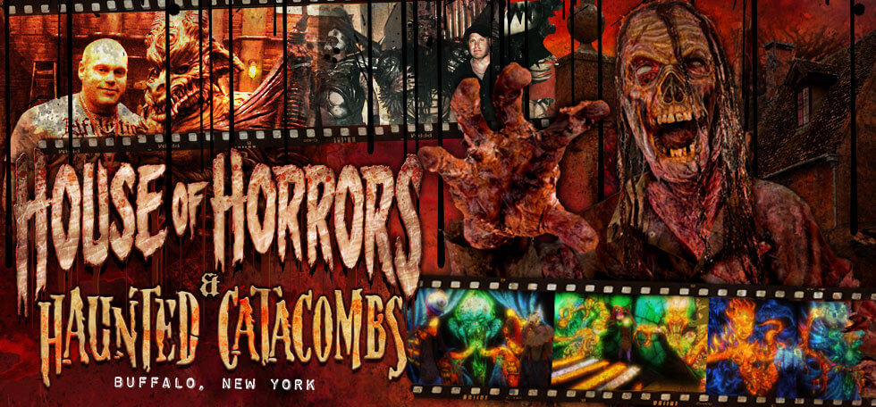 Houes of Horrors and Haunted Catacombs