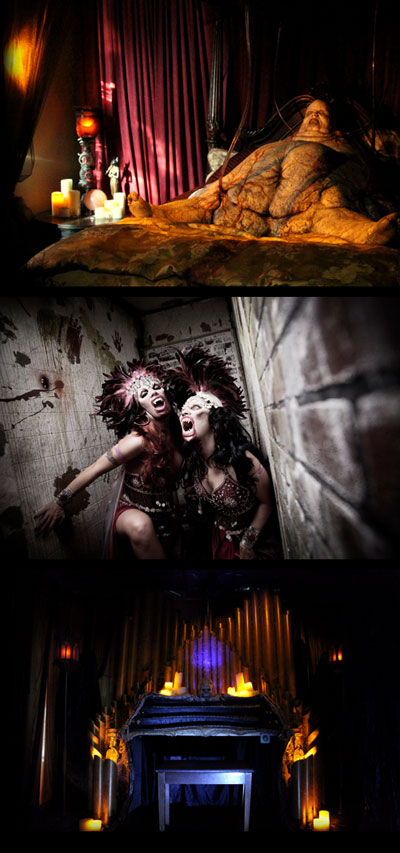 The Mortuary Haunted House attraction