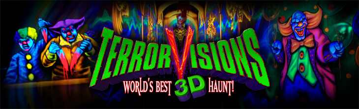 THE BEST 3D haunted attraction