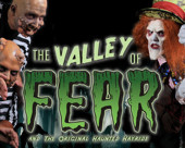 The Valley of Fear & The Original Haunted Hayride Logo