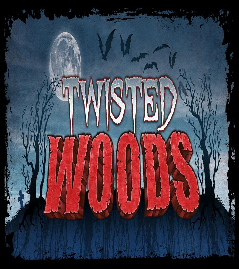 Twisted Woods Haunted Attraction Logo