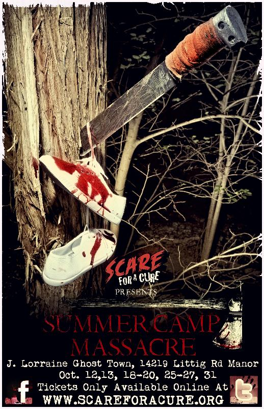 2012 Summer Camp Massacre Poster
