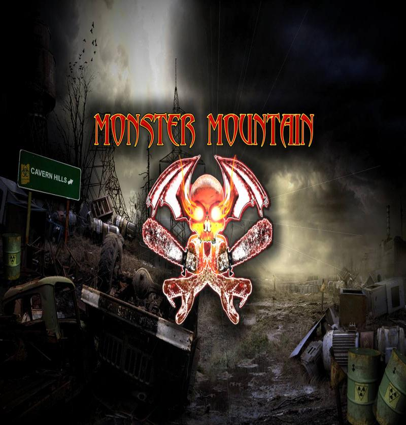 Monster Mountain Haunted Attraction Logo