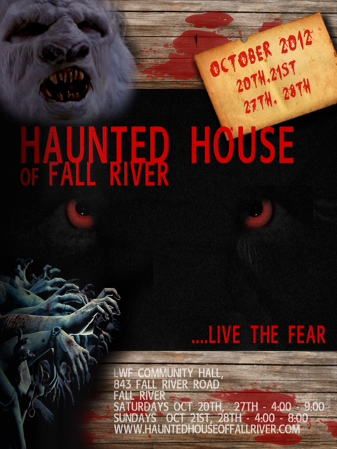 Haunted House of Fall River Logo