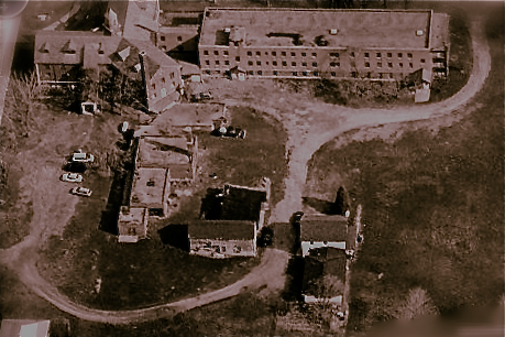 Rolling Hills Asylum aerial view