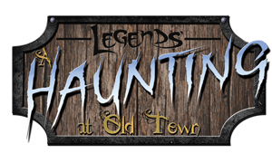 Legends A Haunting at Old Town Logo
