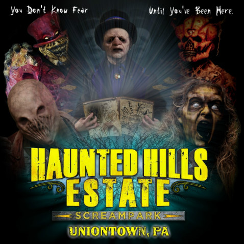 Haunted Hills Estate Scream Park - Haunted House in Uniontown
