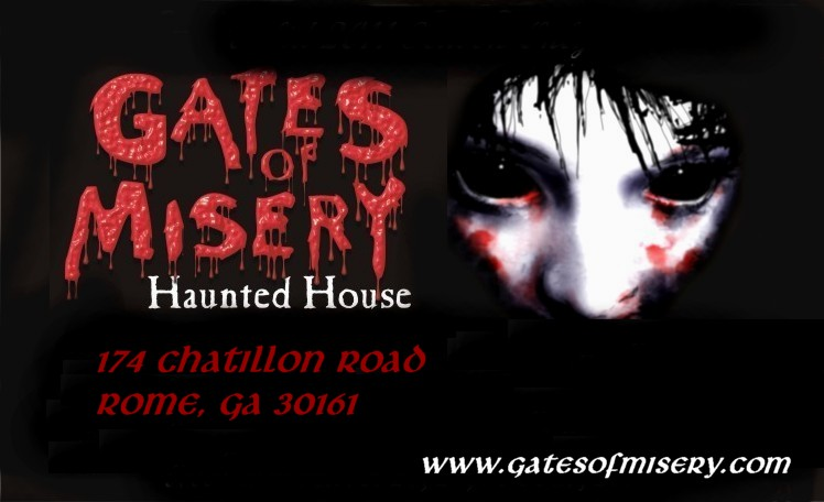 2012 Gates Of Misery Haunted House