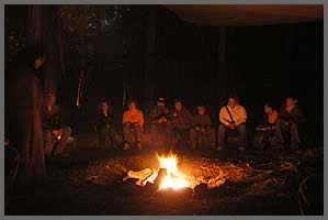 The Storyteller at the Fire 1