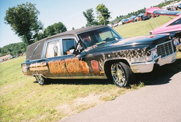 Fright Kingdom Hearse