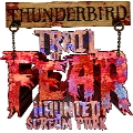 Thunderbird Trail of Fear Logo