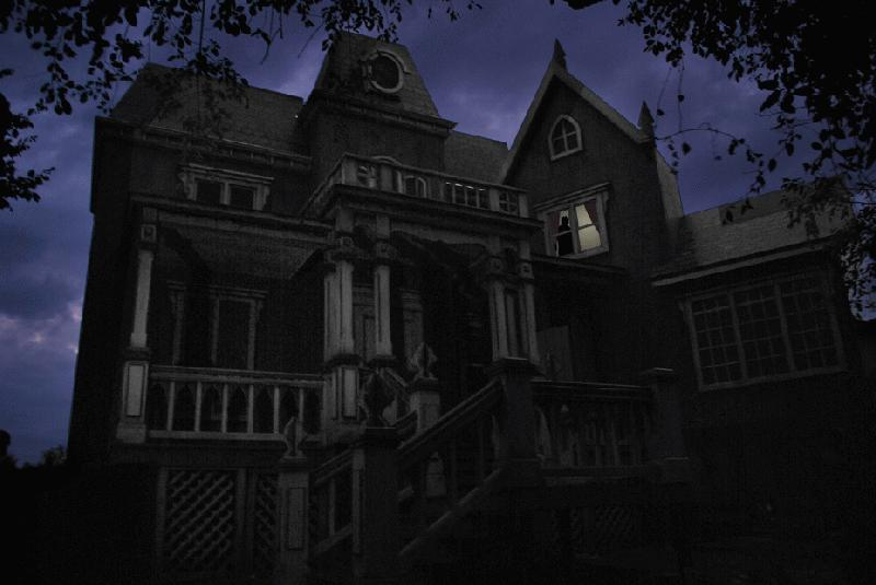 The Haunted House in the Hollow. (This is the actual place)