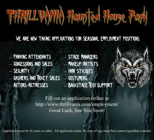 Haunted Places In Northwest Houston: Haunted House In Terrell, Texas, TX Trillvania Thrill Park