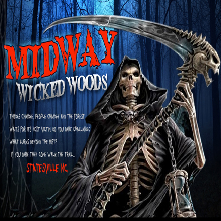 midway wicked woods - Halloween Haunted Houses Charlotte Nc