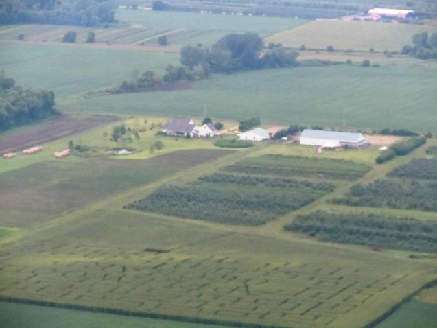 Find Corn Mazes In Lakeville Minnesota Applewood